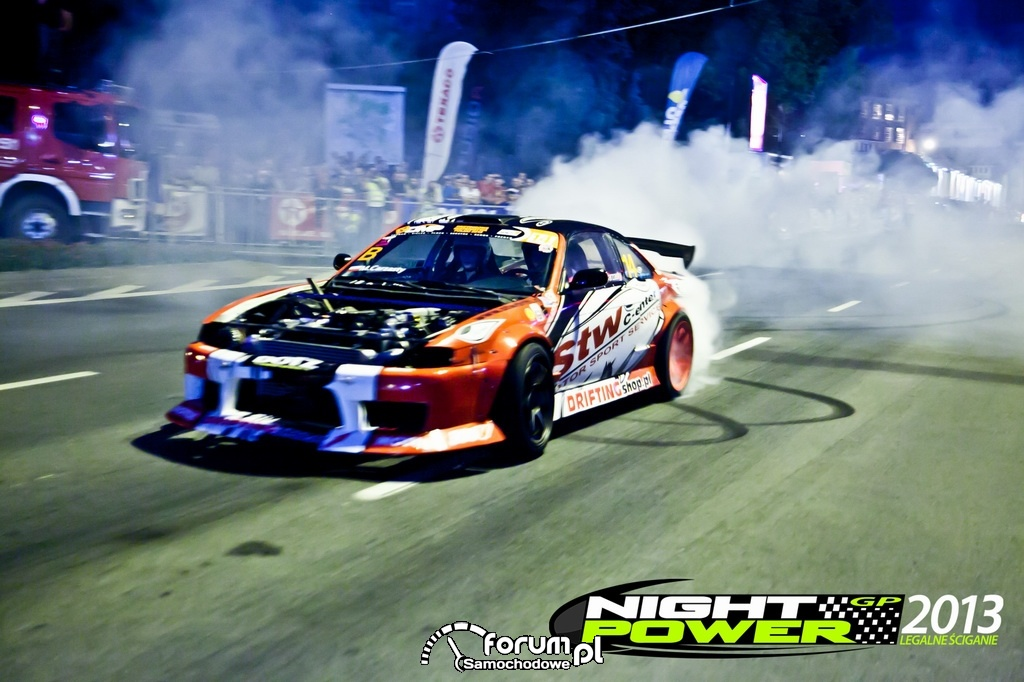 Nissan 200sx s14, drift, 1 czerwca w Olsztynie