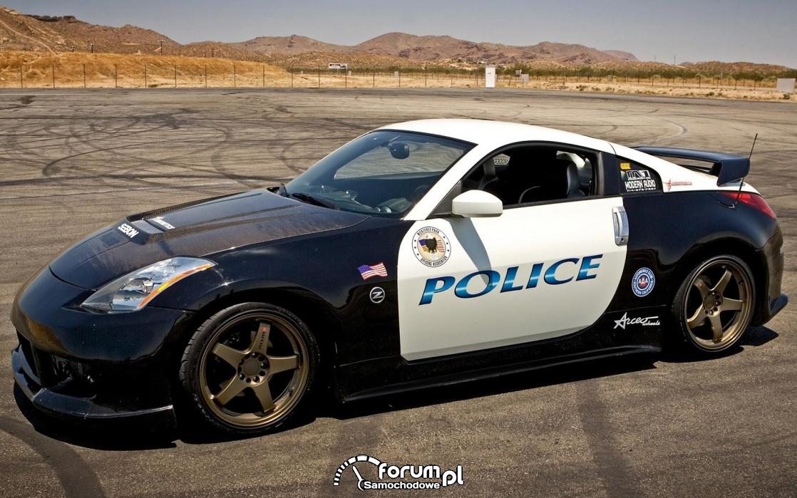 Nissan 350Z Police