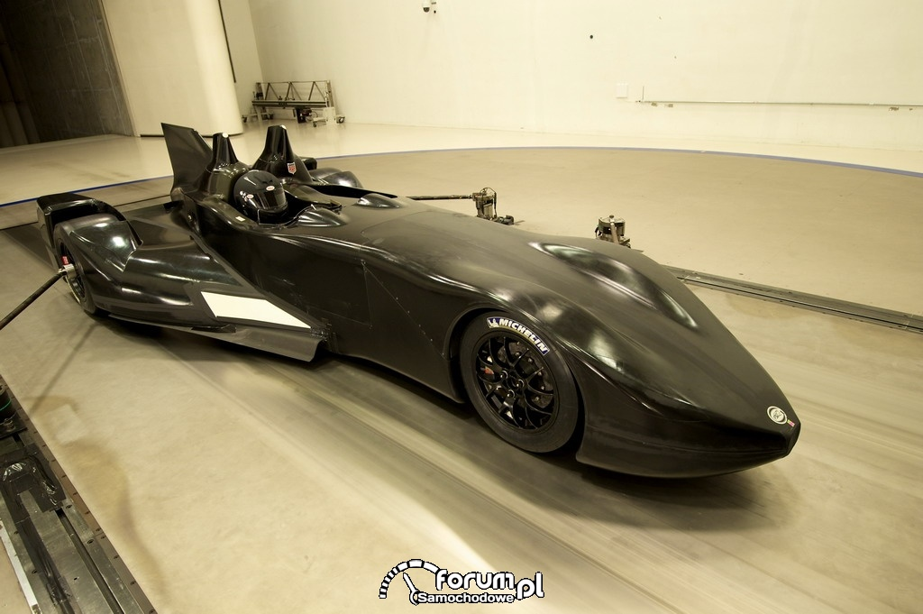 Nissan DeltaWing - tunel aerodynamiczny