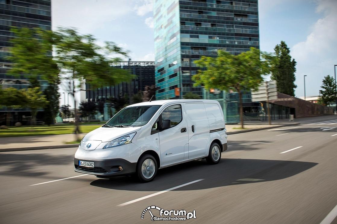Nissan e-NV200 w wersji dostawczej