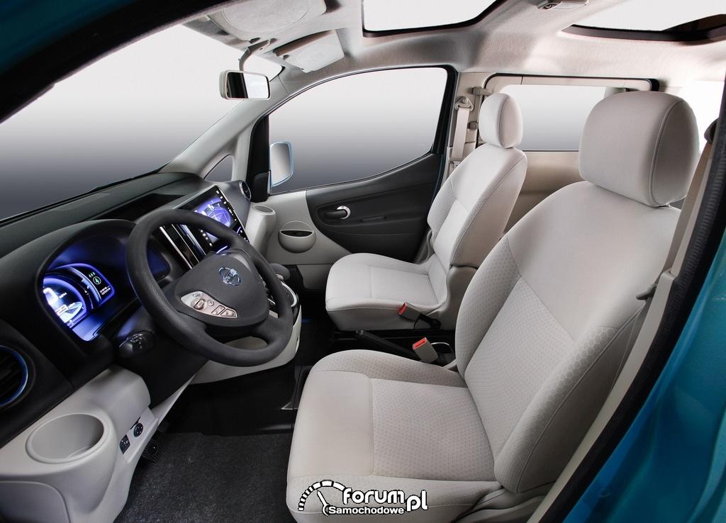 Nissan e-NV200 - wnętrze, 2