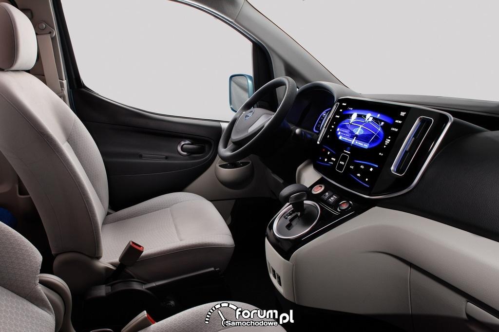 Nissan e-NV200 - wnętrze