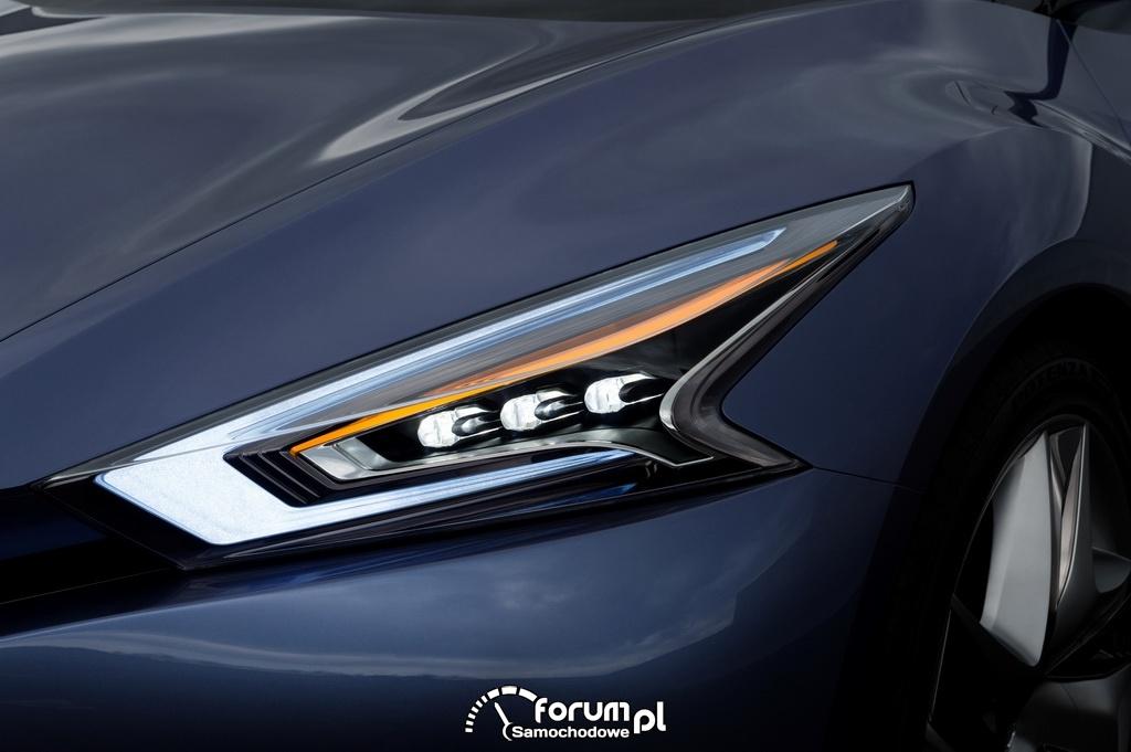Nissan Friend-Me, model koncepcyjny, przednie światła