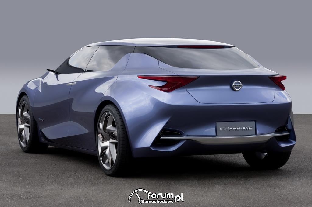Nissan Friend-Me z napędem hybrydowym PureDrive, model koncepcyjny