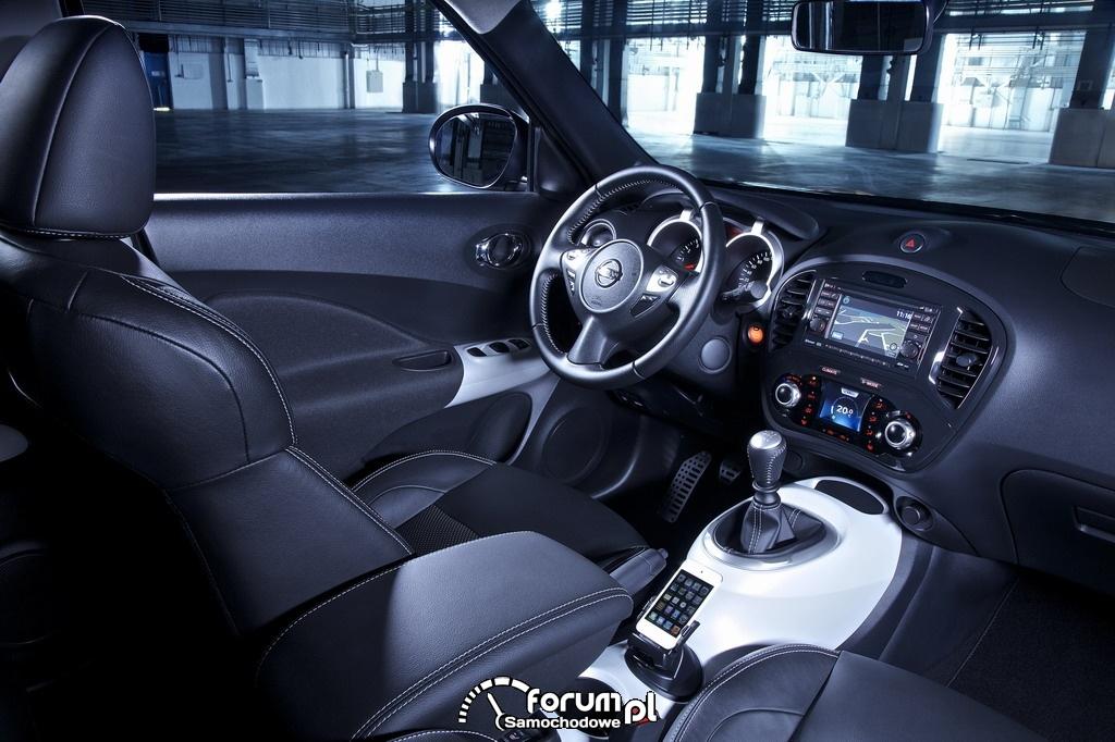 Nissan Juke edycja Ministry of Sound, wnętrze