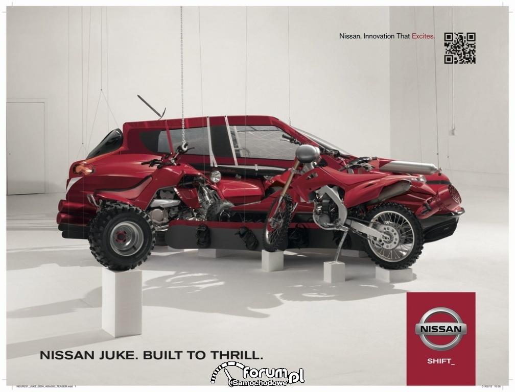 Nissan Juke Timelapse