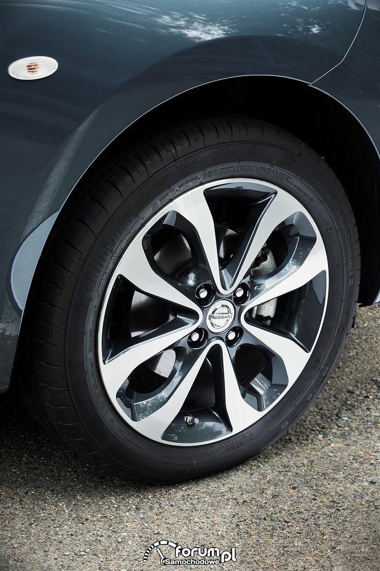 Nissan Micra N-Tec, alufelgi