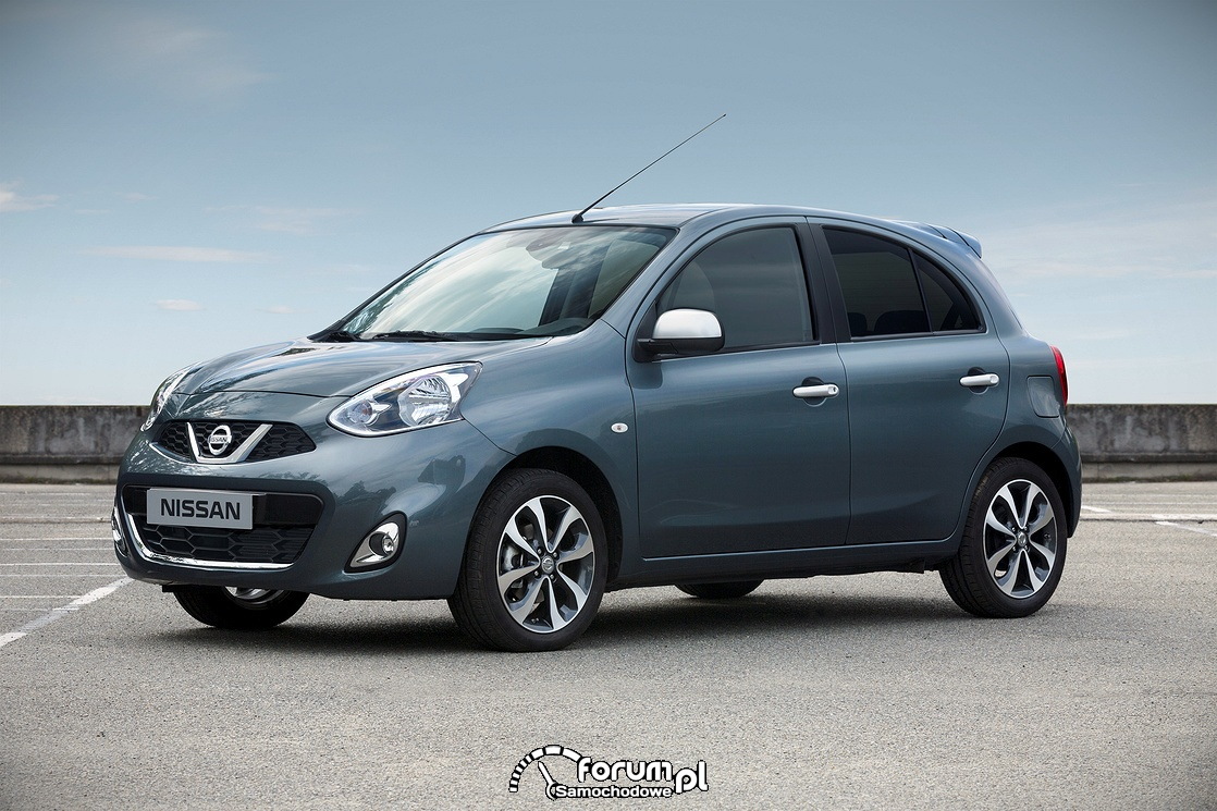 Nissan Micra N-Tec - nowa stylizacja nadwozia i wnętrza