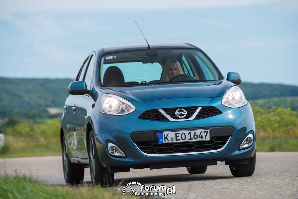 Nissan Micra, przód