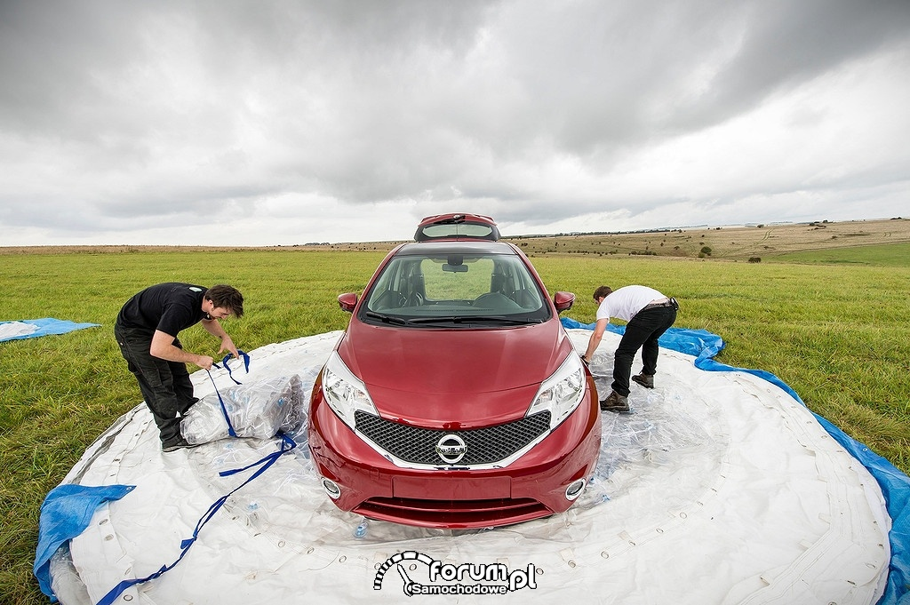 Nissan Note CarZorb