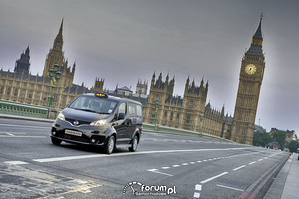 Nissan NV200 London Taxi, 2