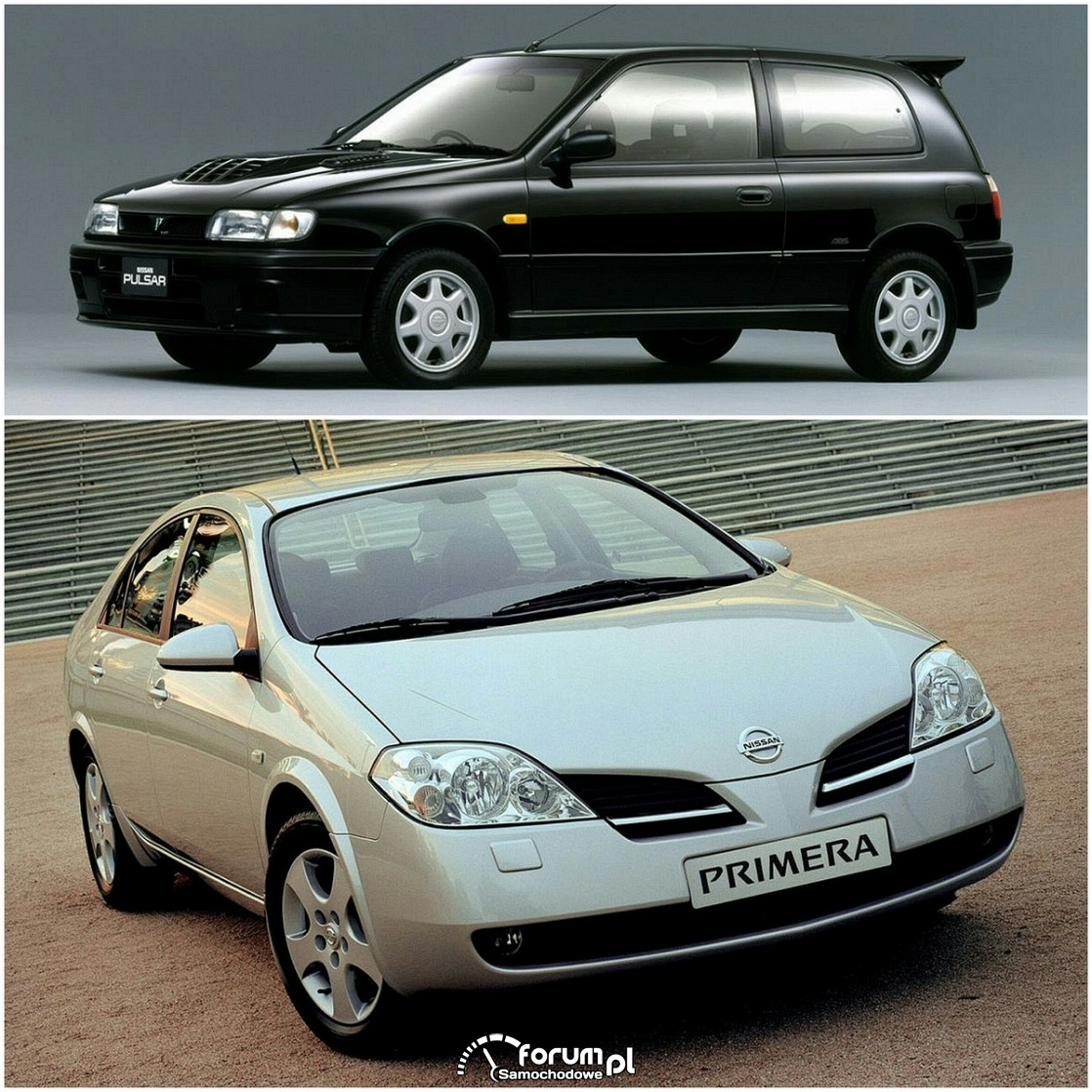 Nissan Primera, Pulsar, silniki z serii SR20
