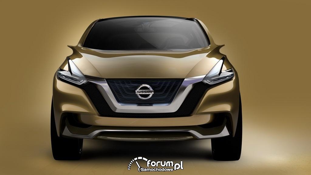 Nissan Resonance koncepcyjny crossover, przód