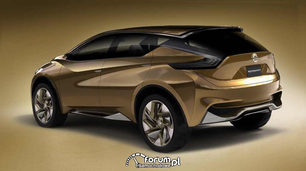 Nissan Resonance koncepcyjny crossover, tył