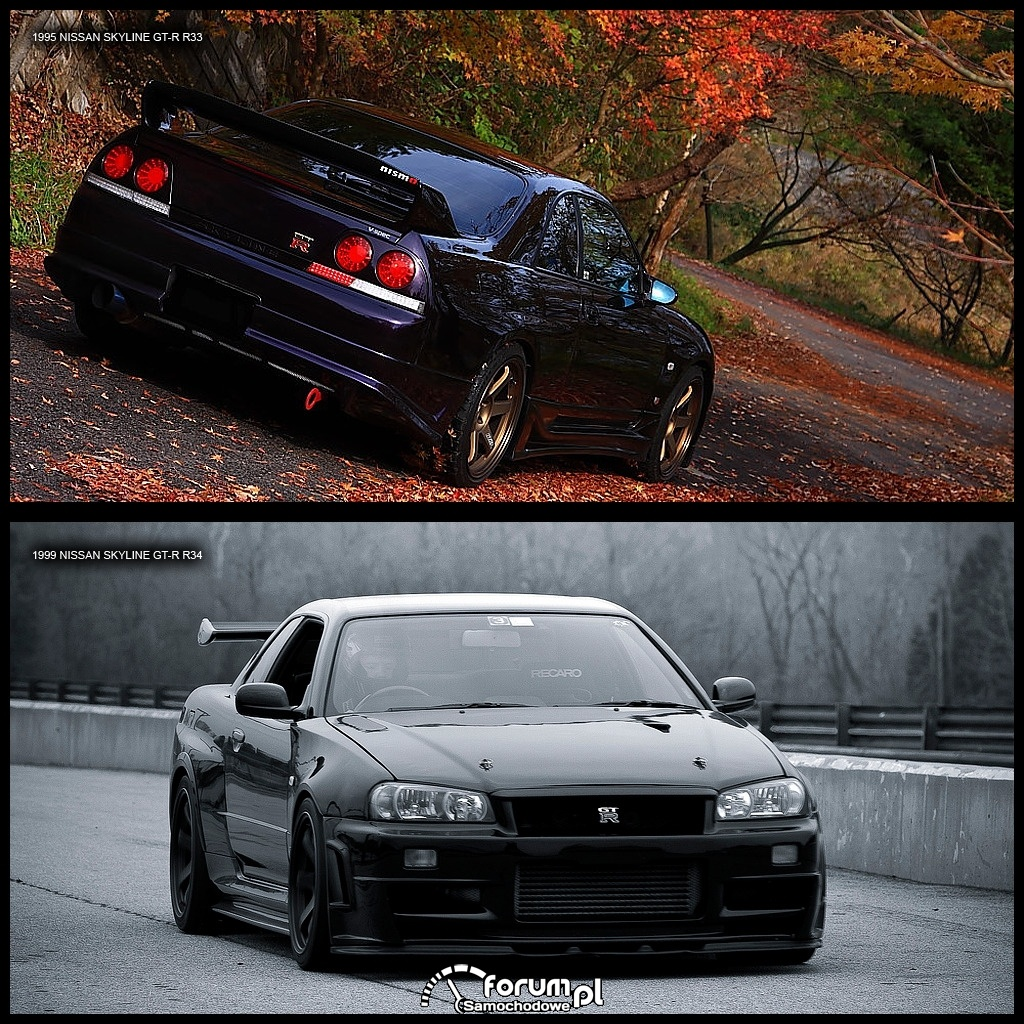 Nissan Skyline R33 & R34