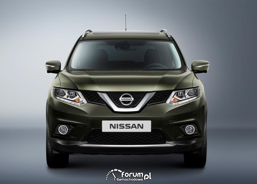 Nissan X-TRAIL, przód
