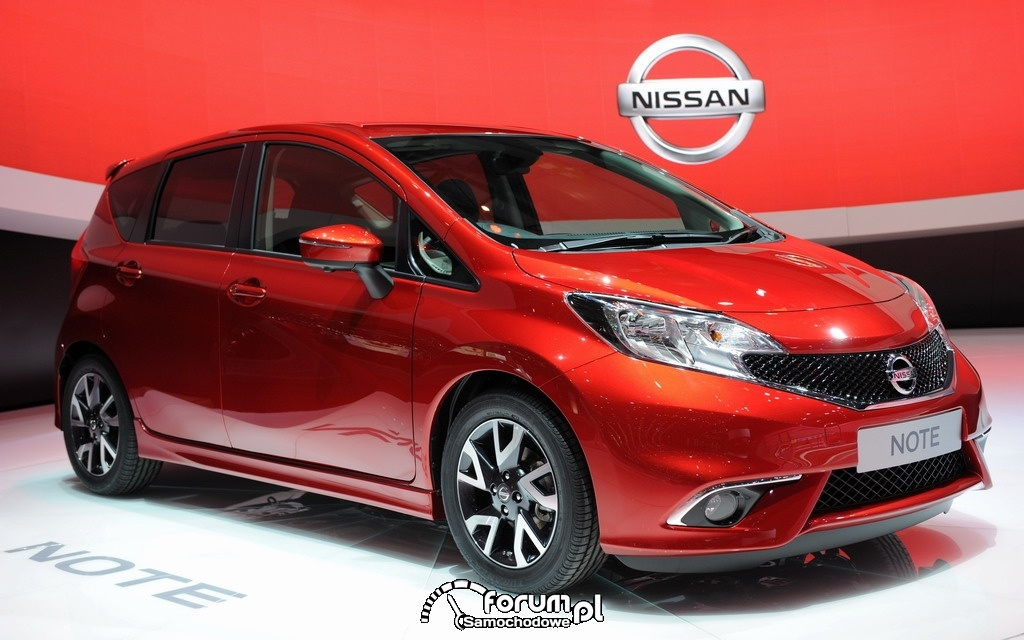 Nowy Nissan Note, 2013