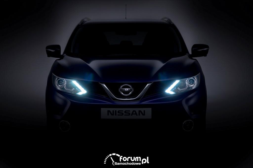 Nowy Nissan Qashqai, przód