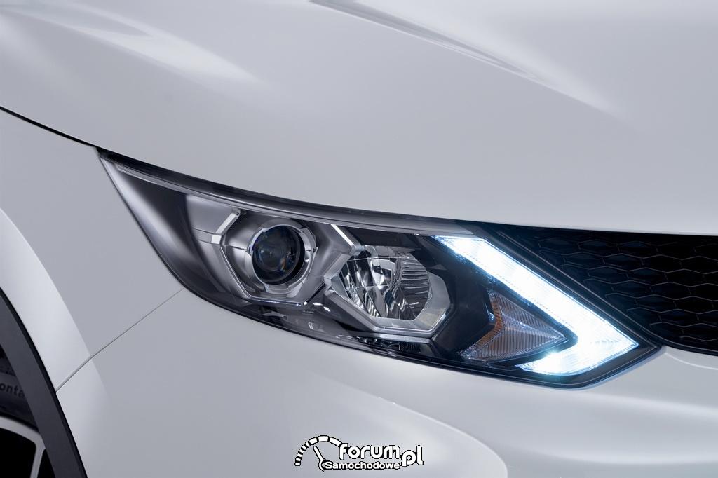 Przednie światła LED, Nissan Qashqai, 2014