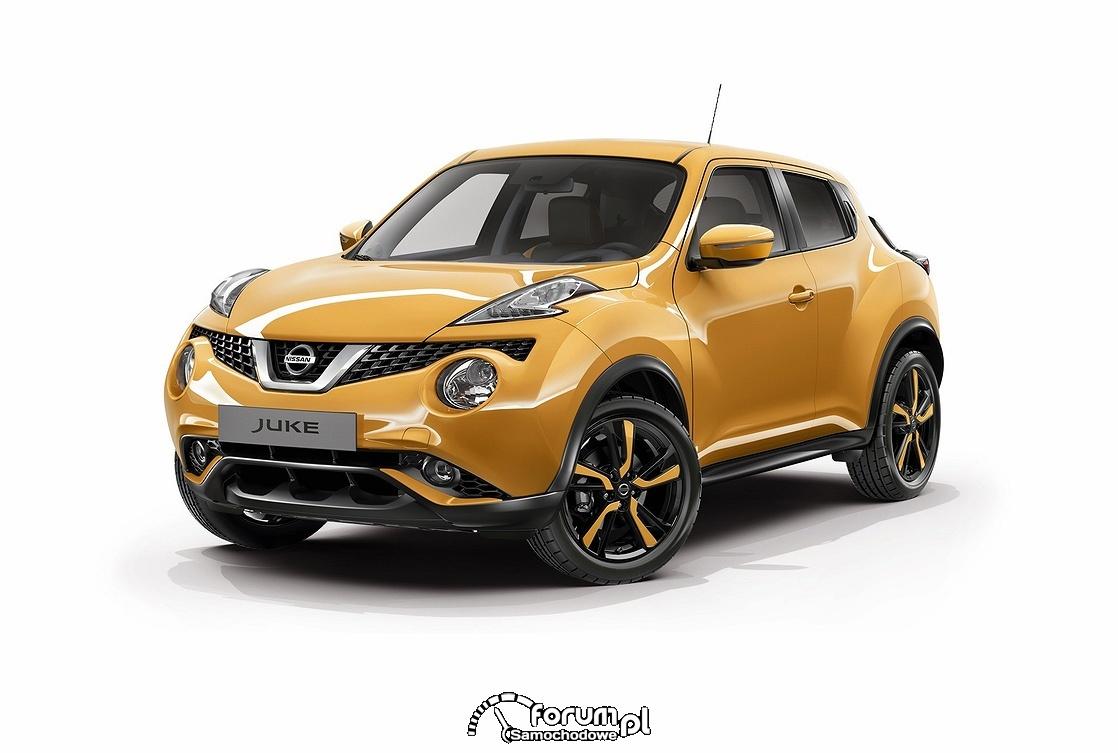 Żółty Nissan Juke Fun Edition