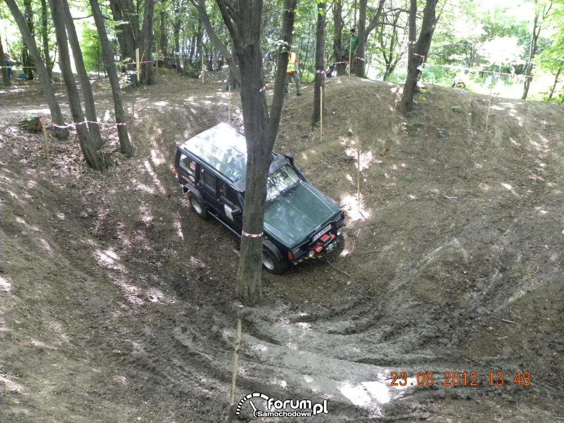 Jazda w terenie leśnym