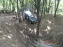 Jazda w trudnym terenie leśnym