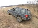 Jeep Grand Cherokee, tylne koło w górze