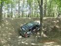 Jeep Grand Cherokee w terenie, błoto