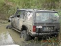 Jeep Grand Cherokee w wodzie