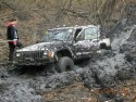 Jeep - przeprawa błotna