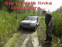 Jeep - urwana linka reduktora i co dalej?