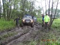 Jeep w błocie