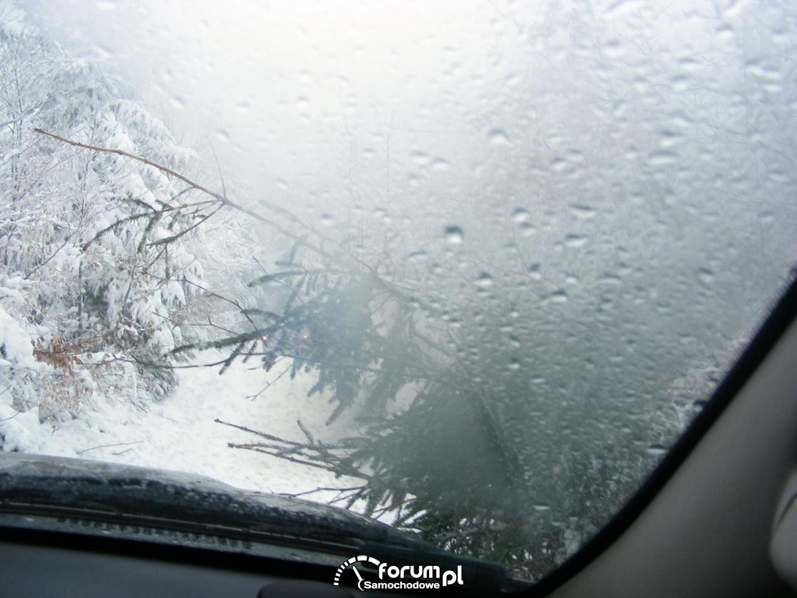 Mała przeszkoda, Wisła zimą