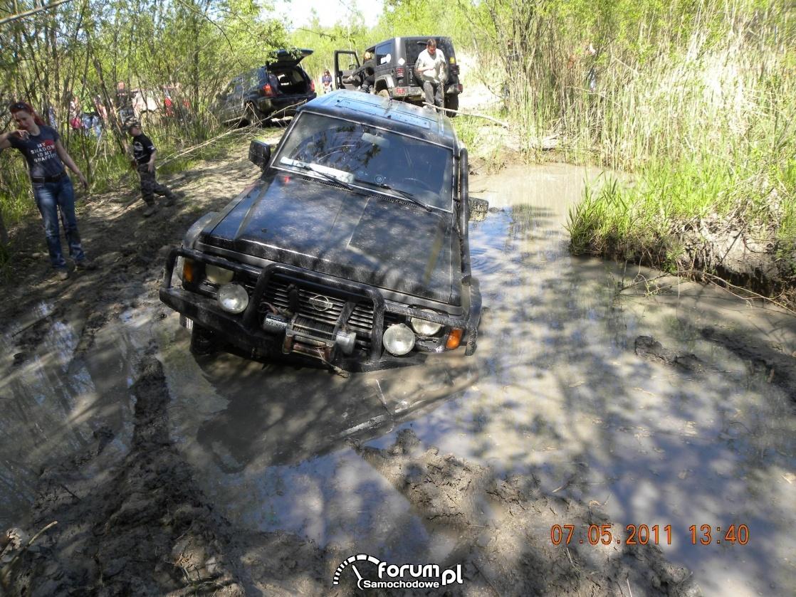 Nissan Patrol GR, bez wyciagarki się nie obejdzie