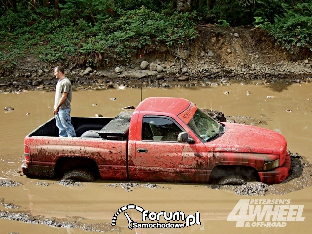 Off Road 4X4 Truck Whoops Dodge Truck
