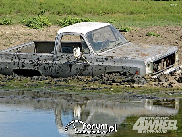Off Road 4X4 Truck Whoops Ford Truck Water