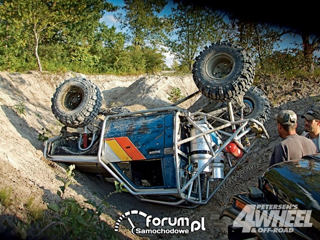 Off Road 4X4 Truck Whoops Rolled Tube Buggy