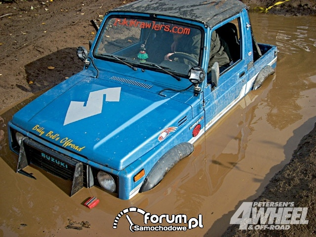 Off Road 4X4 Truck Whoops Suzuki Samurai Mud