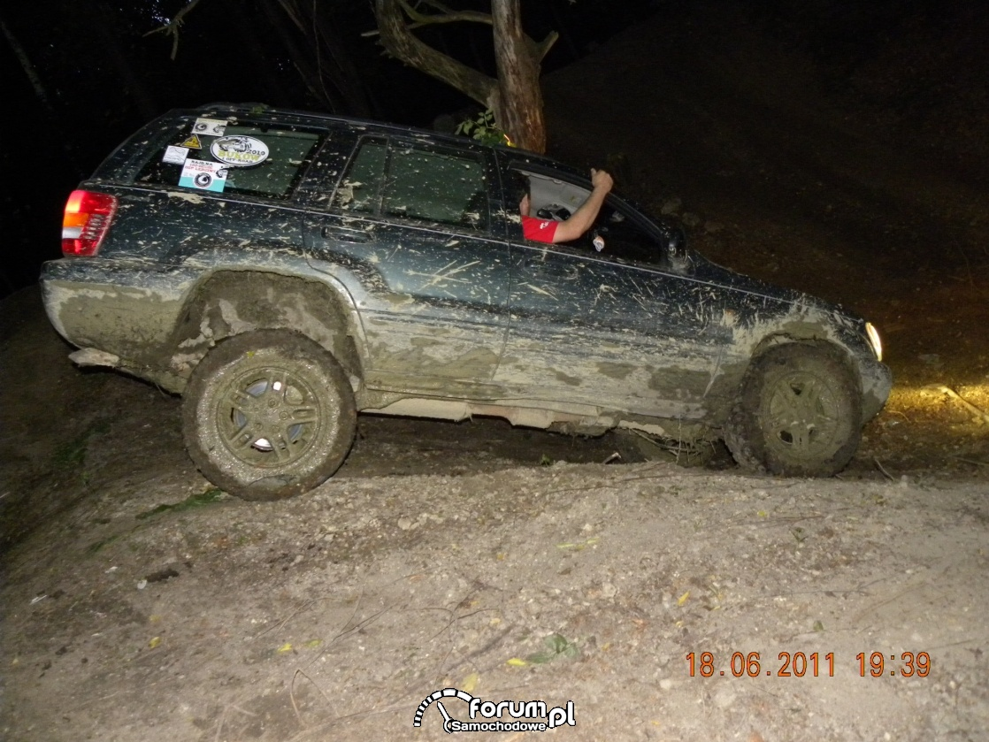 Off-road nocą
