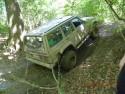 Przeprawa off-roadowa przez las