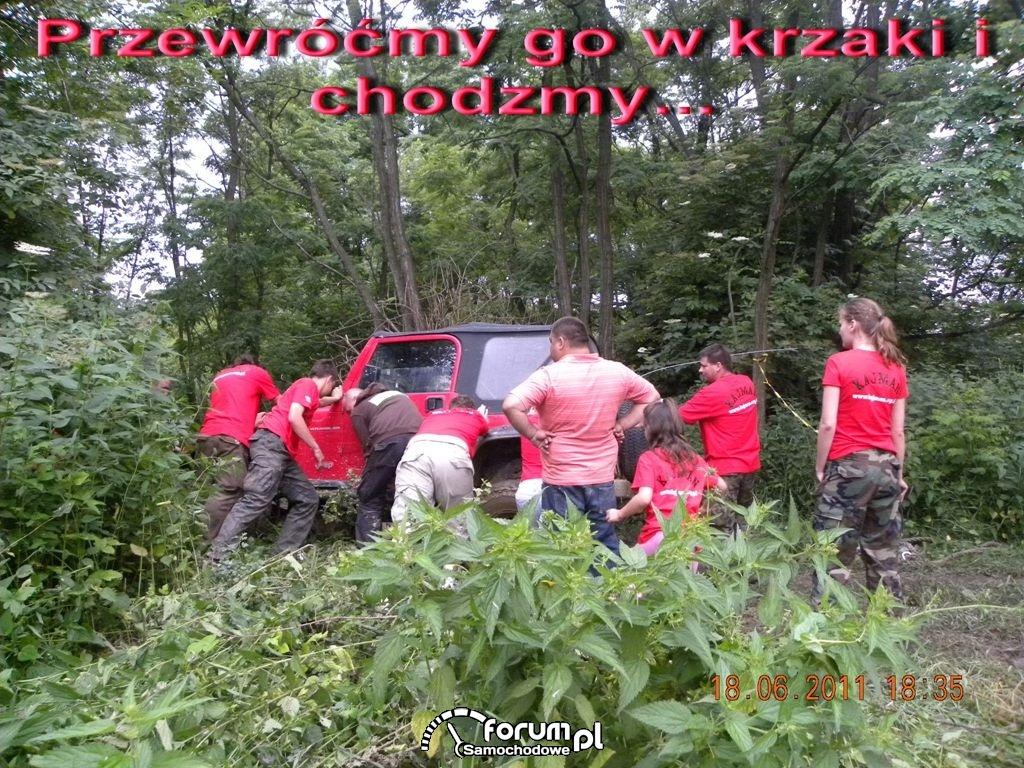Przewracamy Jeepa?