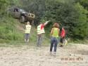 Sedzia off-road i zawieszony samochód terenowy