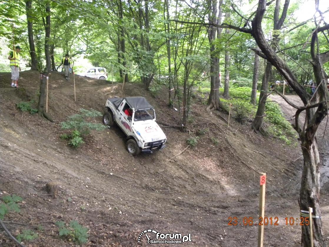 Suzuki zjeżdża w dół