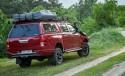 Toyota Hilux Revo z bagażnikiem dachowym