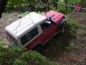 Toyota Land Cruiser w rowie