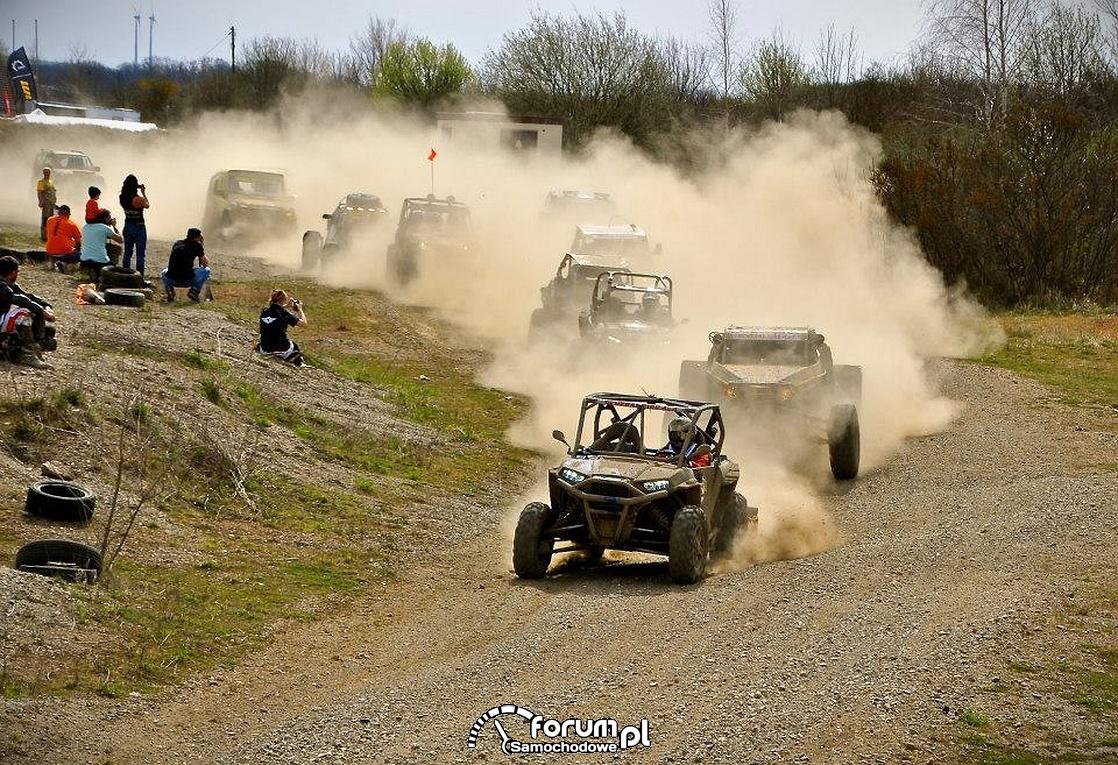 Wyścigi samochodów Buggy, Quadów i samochodów terenowych