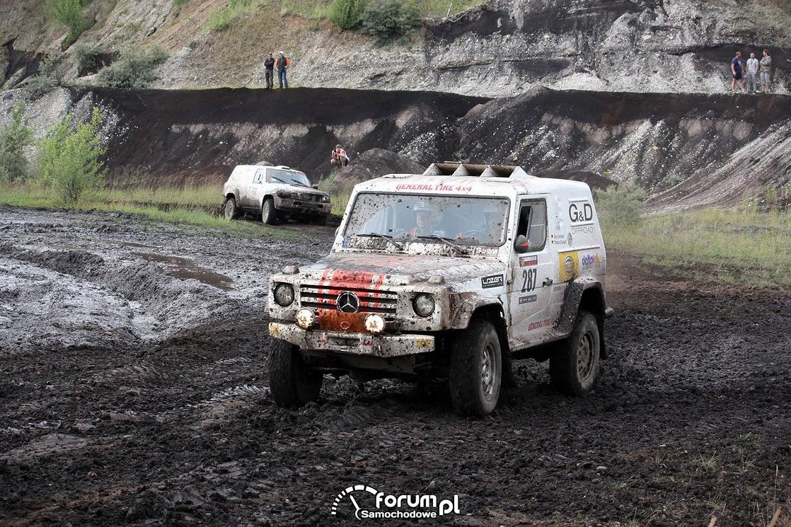 Wyścigi samochodów terenowych, Mercedes