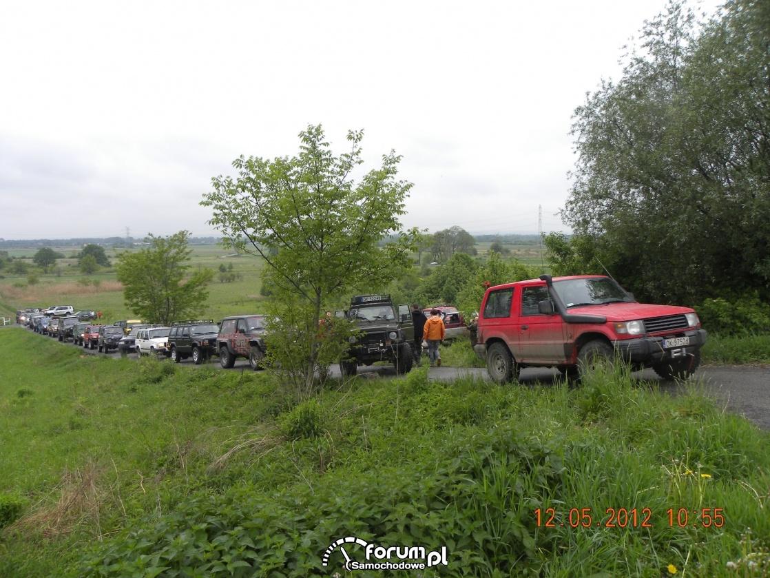 Zlot 4x4 Buków, samochody terenowe