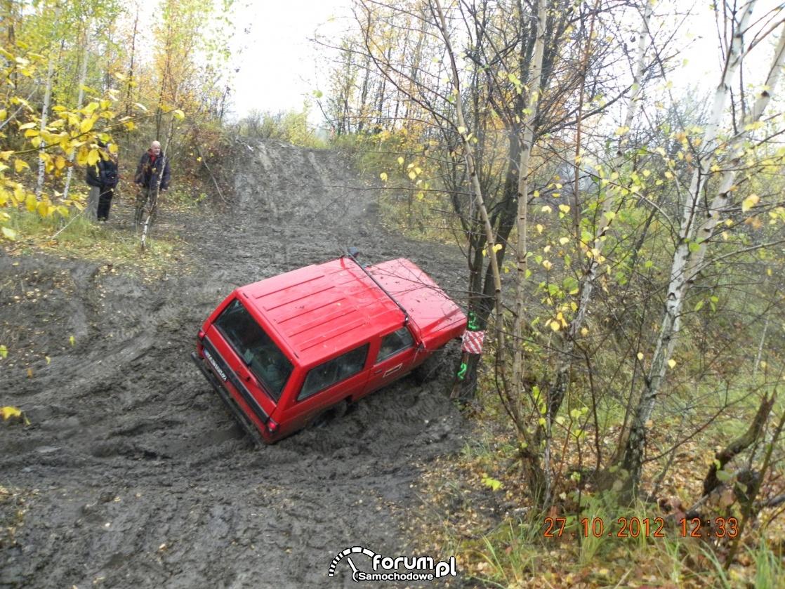 Zmagania Nissana z błotem, Dla Sergiusza