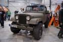 Jeep Wrangler, klolor wojskowy, przód